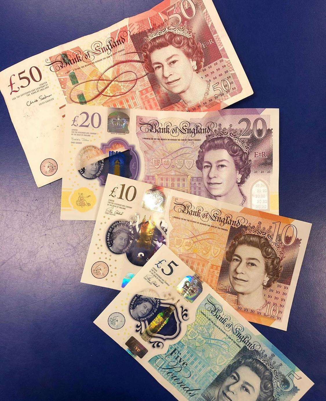 GBP BANKNOTES