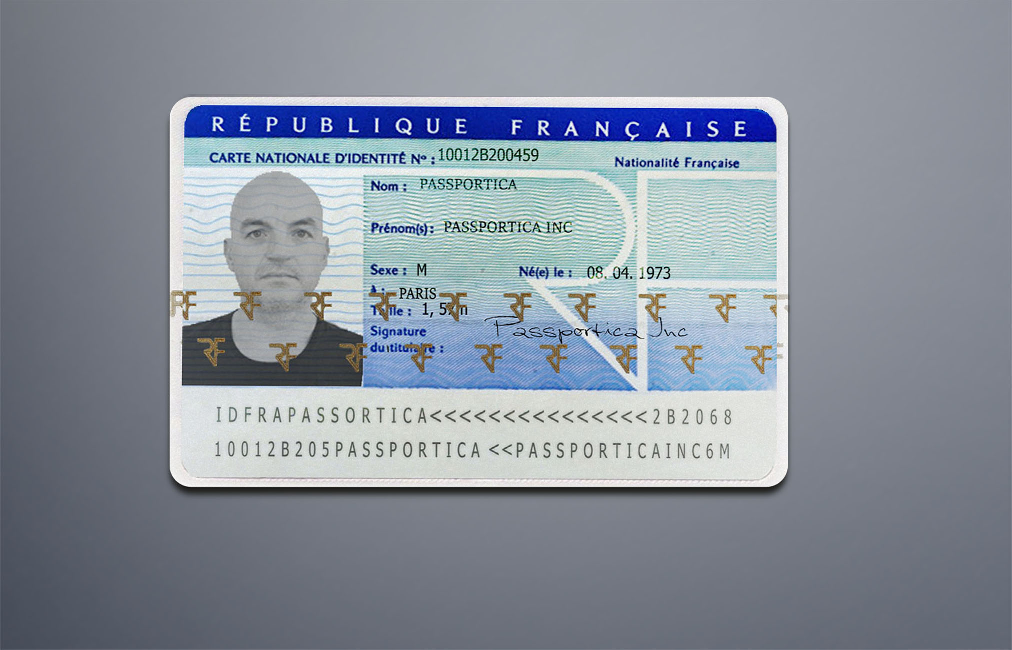 FRANCE ID CARD