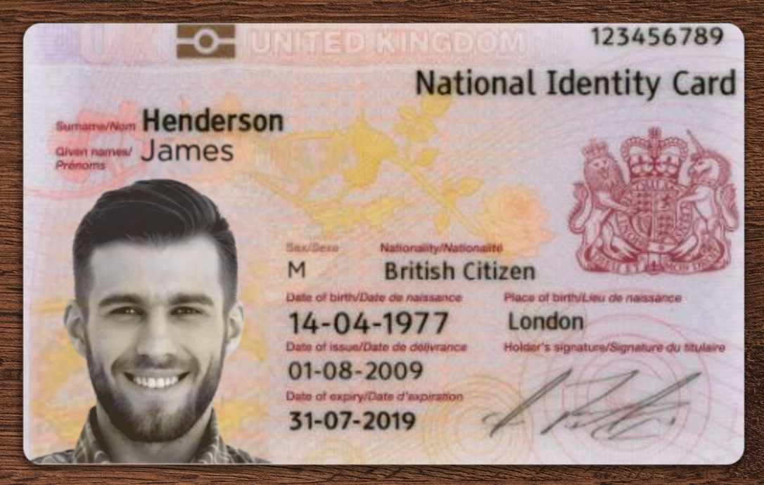 UK ID CARDS