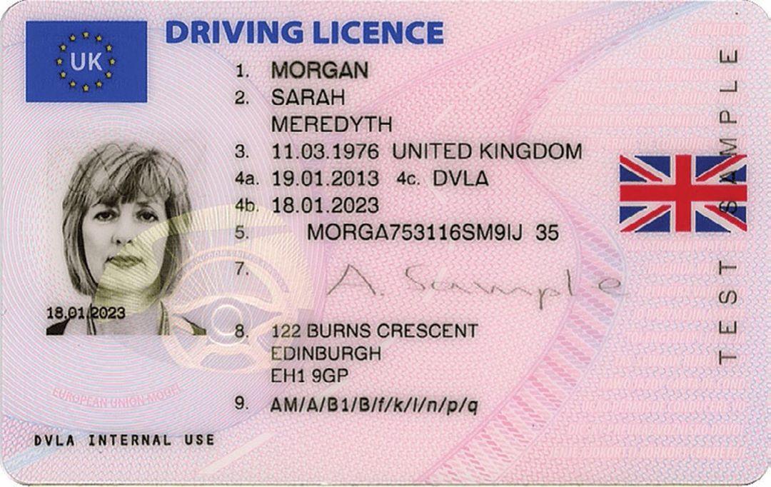 UK DRIVER'S LICENSE ONLINE