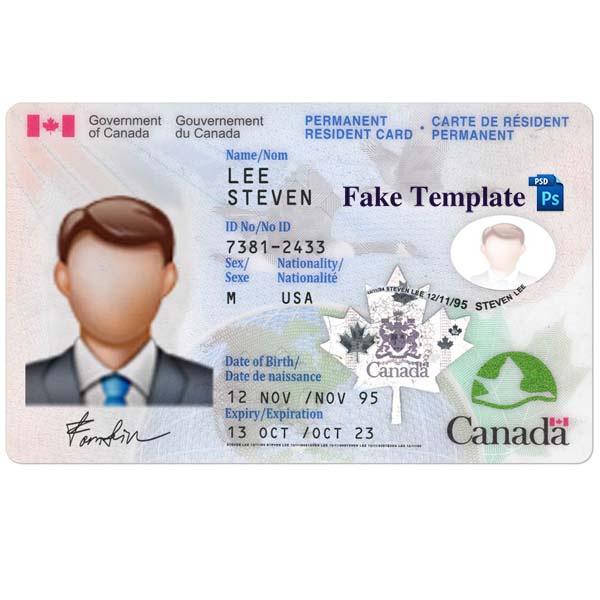 ID Card CANADA