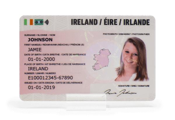 IRELAND ID CARD