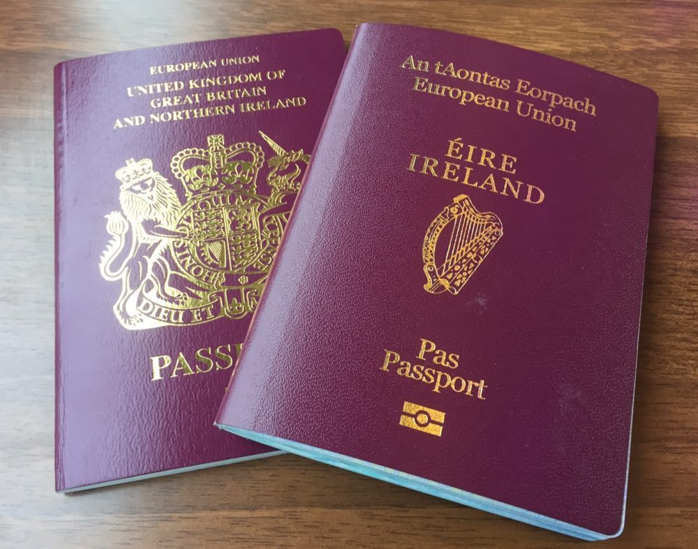 IRELAND PASSPORT